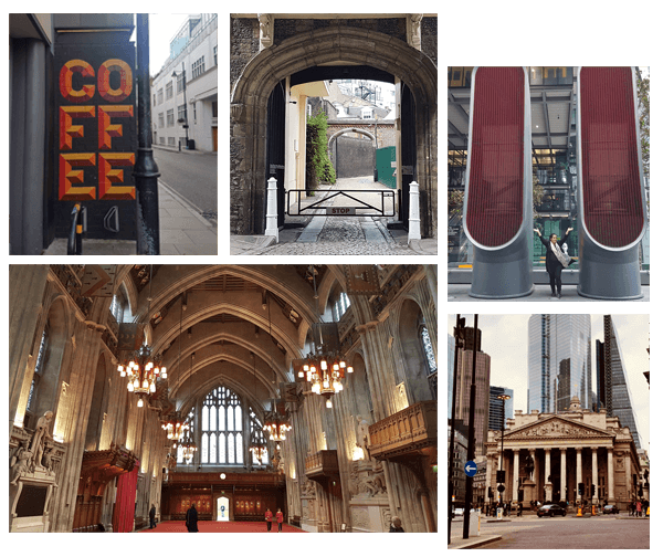 Coffee & tea Tour collage